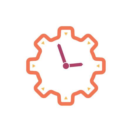 Clock Stock Vector - 77247796