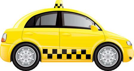 タクシー  イラスト・ベクター素材