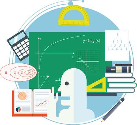 Education concept design Çizim