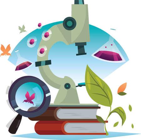 Education concept design Illustration