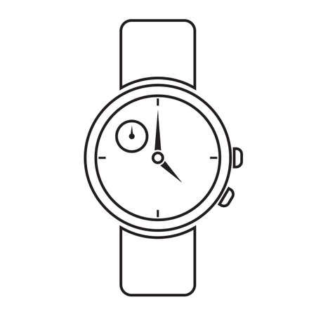 Wrist watch Stock Vector - 77250895