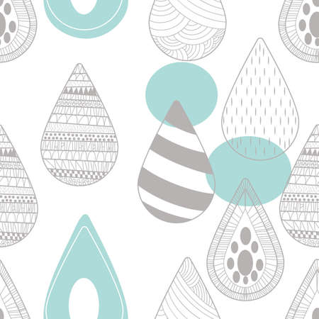 Seamless abstract design Illustration