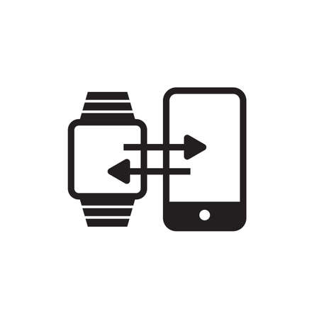 Smartwatch and smartphone synchronization