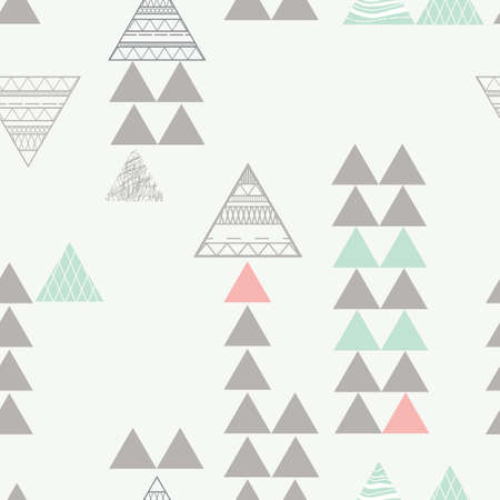 Seamless triangles design Ilustrace
