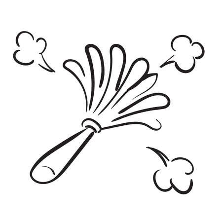 Feather duster Standard-Bild - 77251969