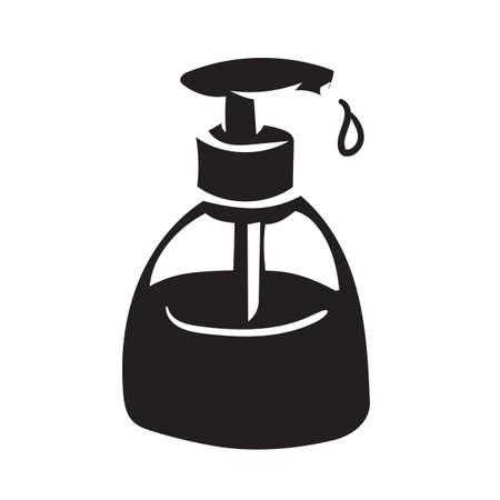 Dispensador de jabón Foto de archivo - 77252019