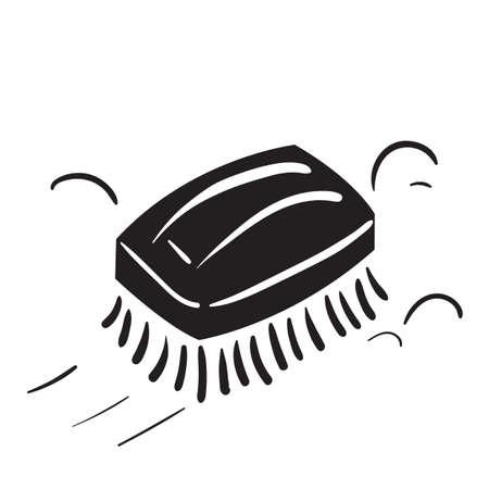Hand brush Ilustração