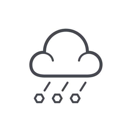 Hailstorm concept