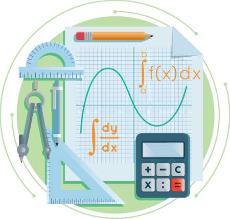 Education concept design Иллюстрация