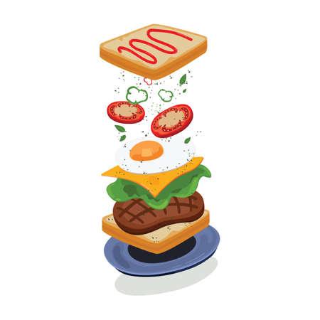 food design Illustration