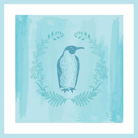 penguin design Stock Vector - 77254263