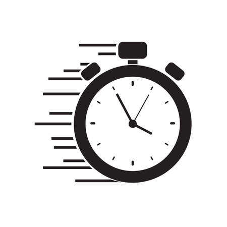 Fast stopwatch icon