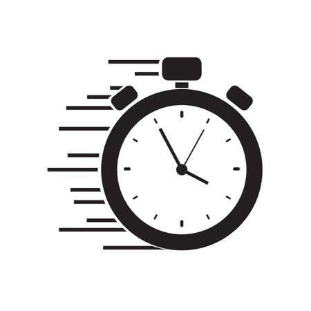 icono de cronómetro rápido Ilustración de vector
