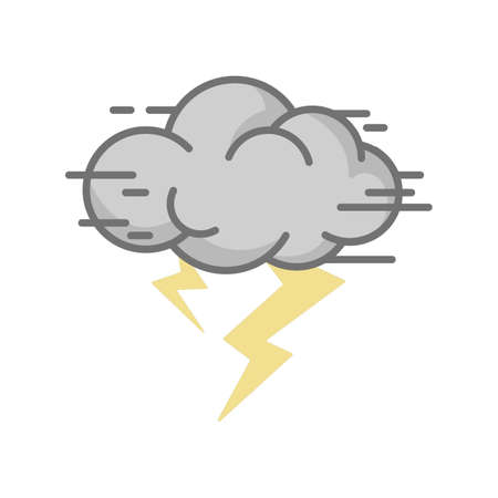 Thunderstorm Reklamní fotografie - 77254639