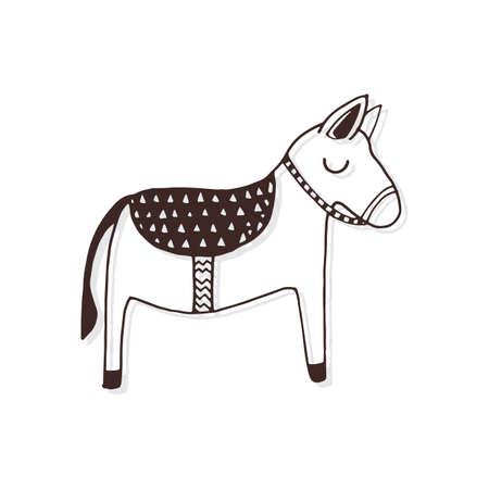 Simple donkey design