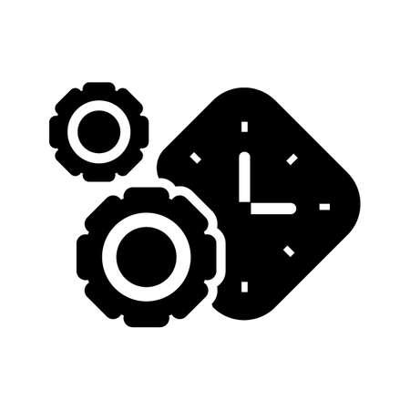 時計付き Cogwheels