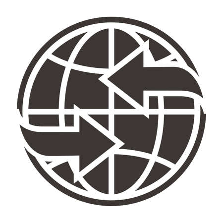 global concept Ilustrace