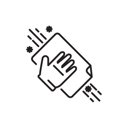 Hand wiping