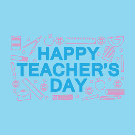 happy teachers day design
