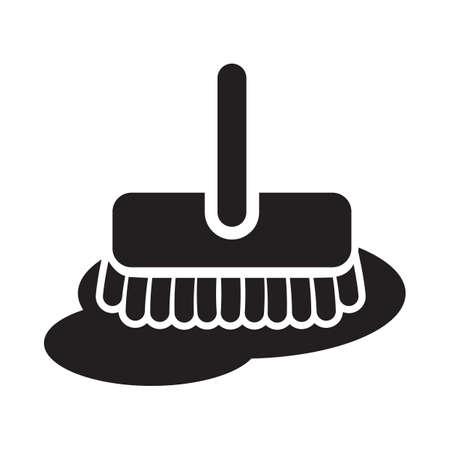 brush broom Ilustração