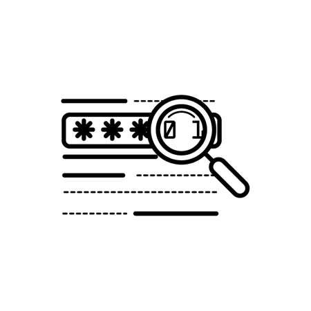 password verification concept