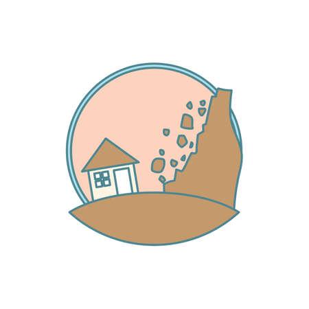 Landslide Ilustrace