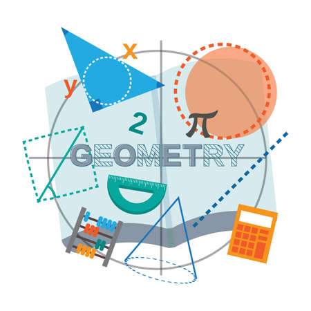 geometry concept design Stock Vector - 77252699