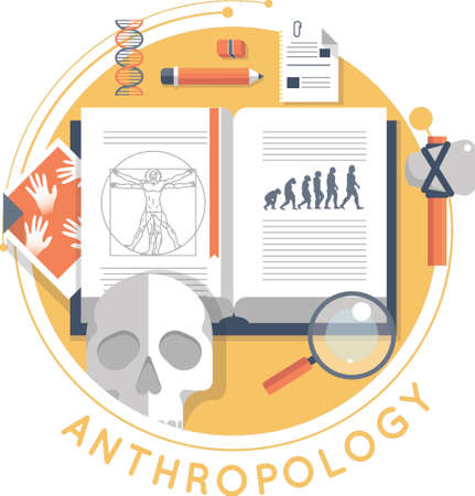 anthropology design Illustration