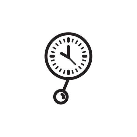 clock pendulum Stock Vector - 77322656