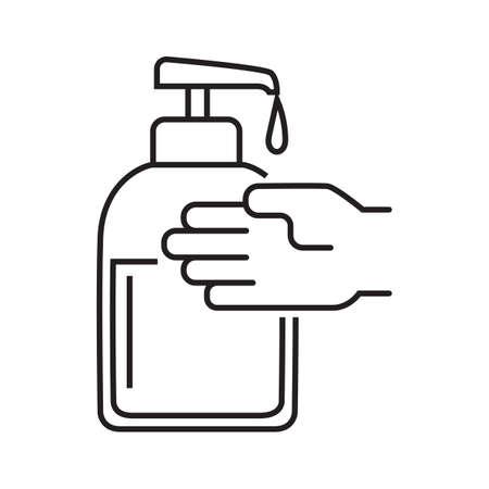 Dispensador de jabón Foto de archivo - 77322670