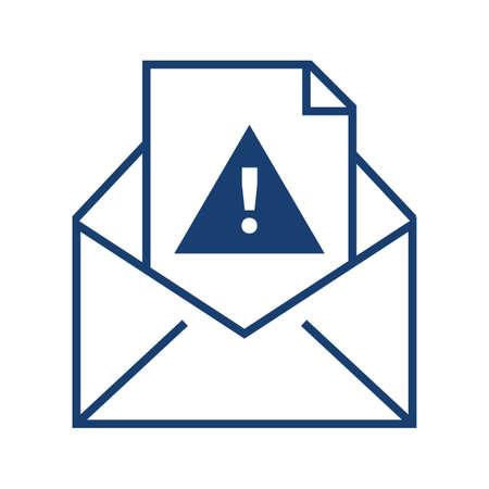 e-mail spam alert