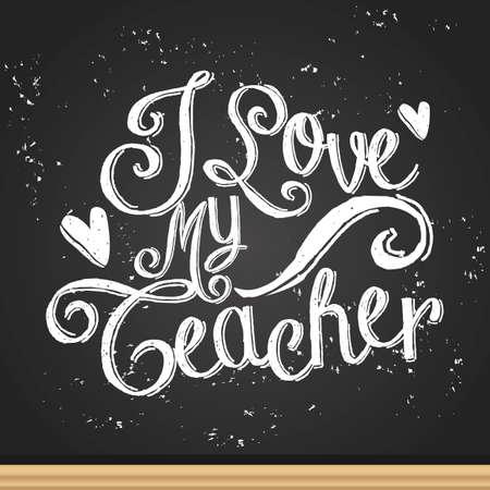 Diseño feliz del día del profesor