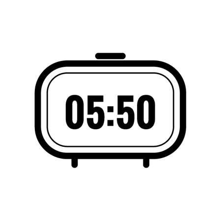 digital clock Stock Vector - 77322793