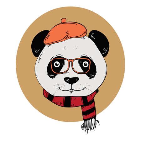 panda character Фото со стока - 77322800