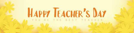 happy teachers day design