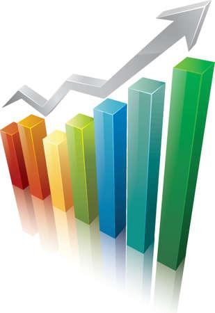 business chart design Imagens - 77322855