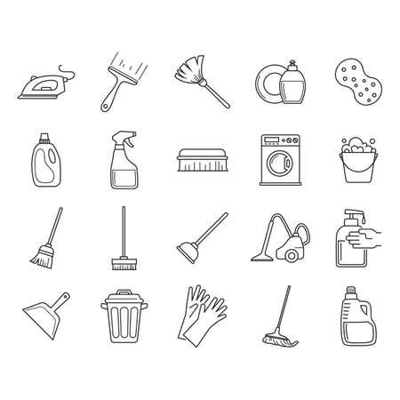 Inzameling van schoonmaakmiddelen