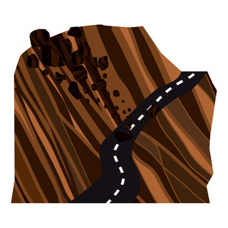 landslide Illustration
