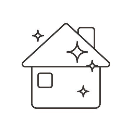 clean household Иллюстрация