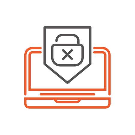 Concept de sécurité informatique Banque d'images - 77322947