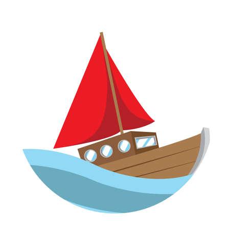 Tsunami. Ilustração