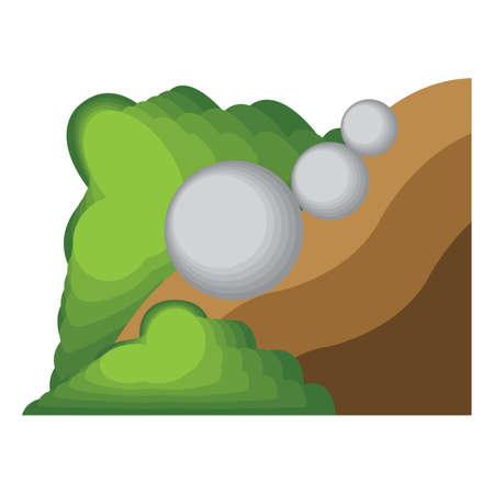 happenings: Landslide.