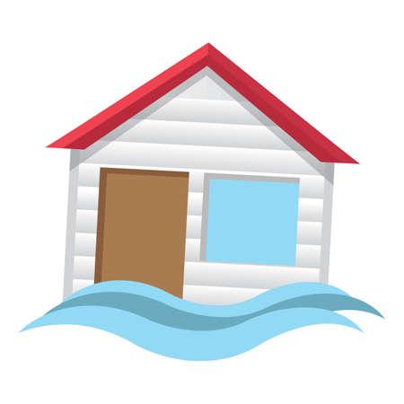Flood. Ilustração