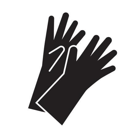 手袋を洗浄します。