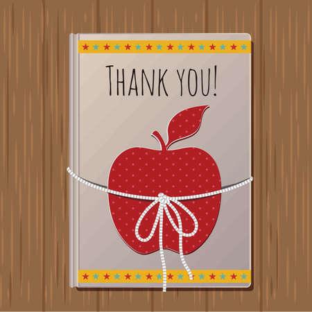 Het ontwerp van de gelukkige lerarendag.
