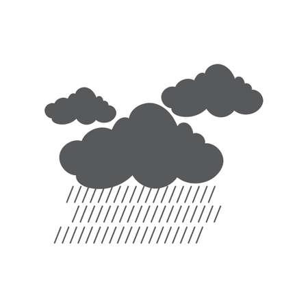 暴風雨  イラスト・ベクター素材