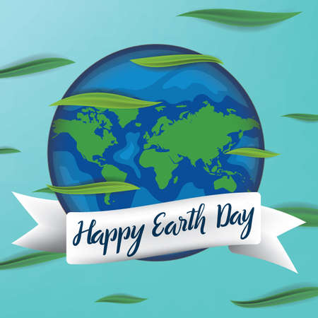 earth day design Фото со стока - 77246065