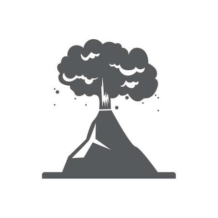 volcanic eruption Stock Vector - 77246158