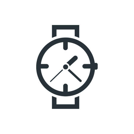 wrist watch icon Stock Vector - 77246164