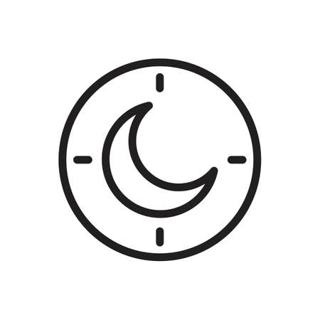 night time icon